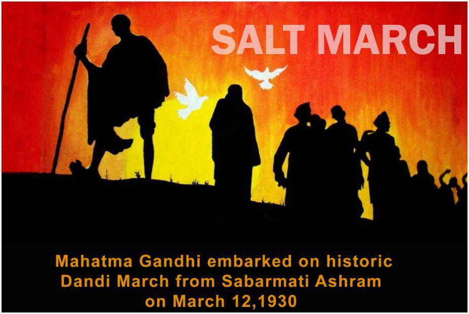 Salt March Satyagraha In Hindi 12 मार्च 1930