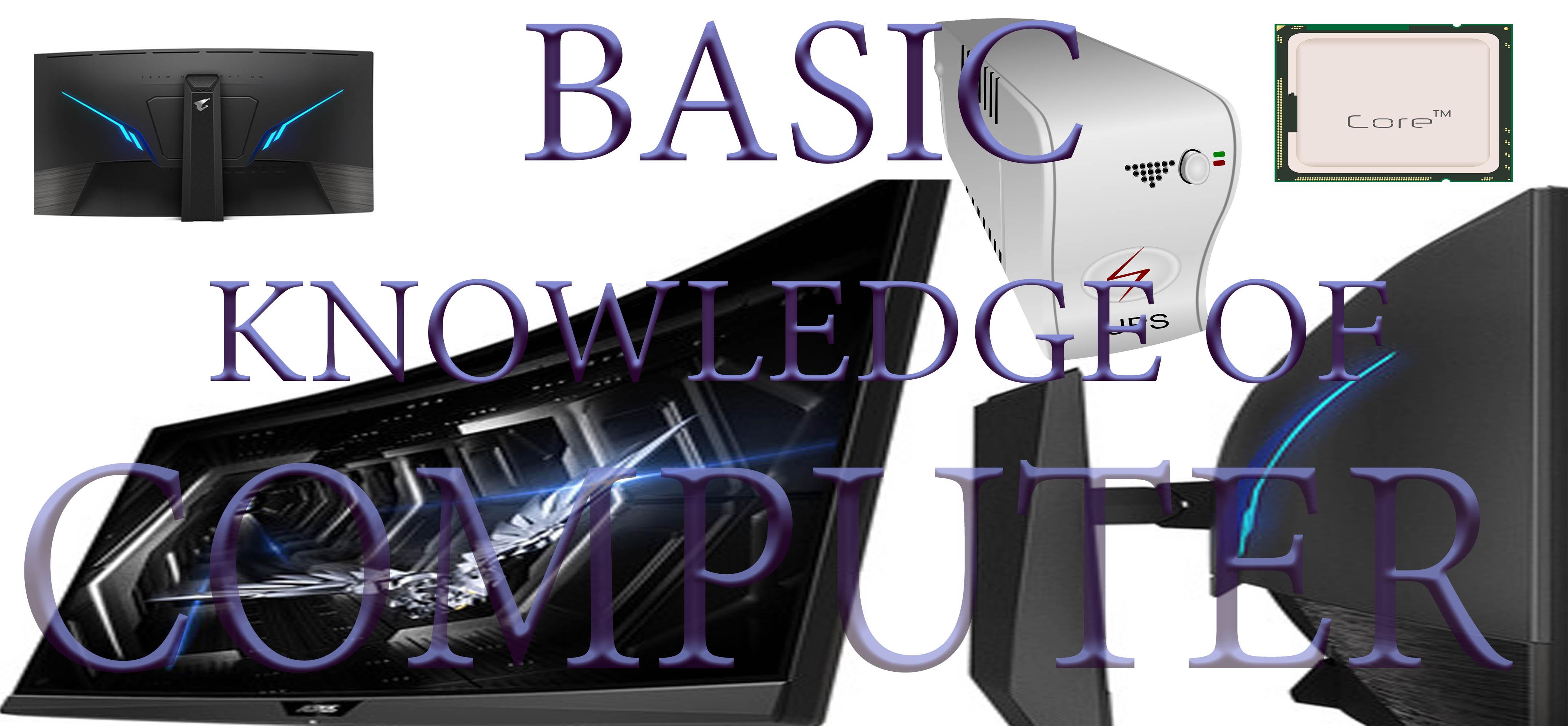 Computer Basic in Hindi | कंप्यूटर की बेसिक जानकारी